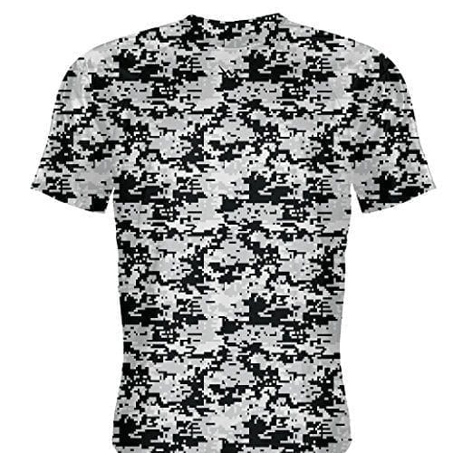 b1be0acd151 LightningWear Silver Camouflage Basketball Shooter Shirts
