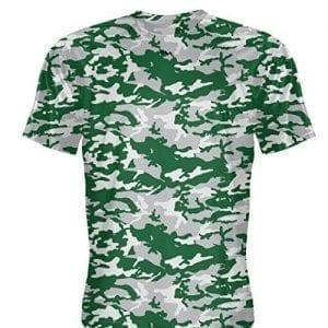 LightningWear Silver Green Basketball Shooter Shirts
