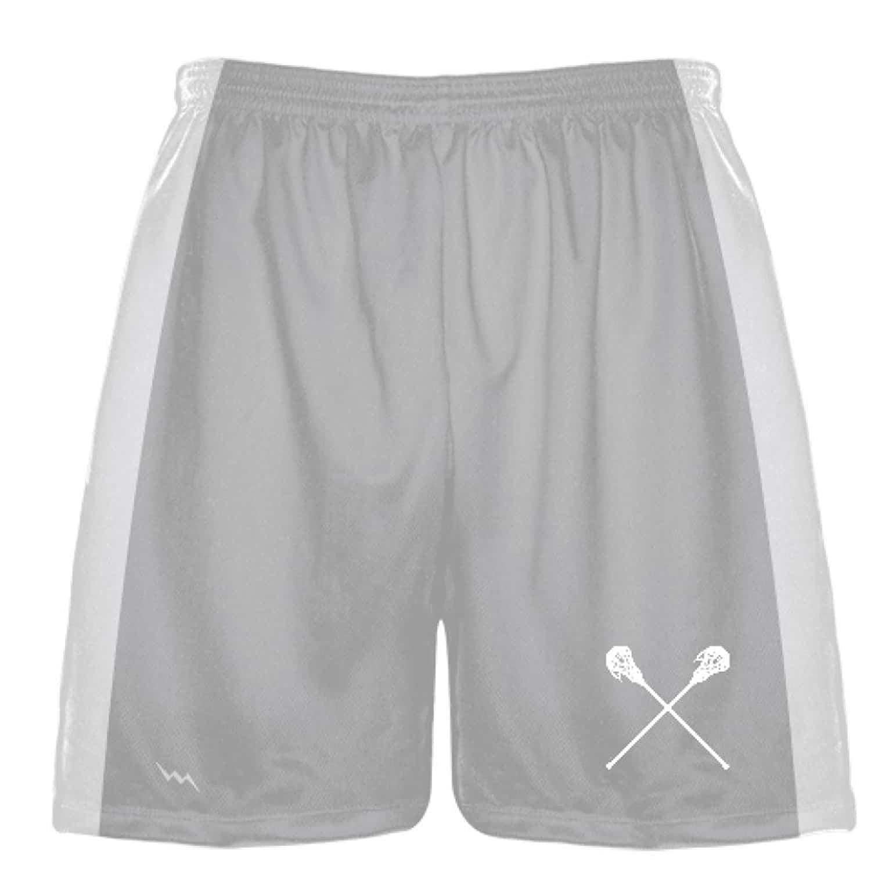 LightningWear-Silver-Lacrosse-Short-Custom-Made-Team-Lacrosse-Shorts-Boys-Lacrosse-Bottoms-Athletic-Shorts-B078N86YL2