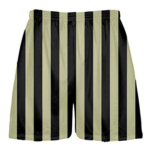 LightningWear-Stripe-Lacrosse-Shorts-Vegas-Gold-B078MJFG71