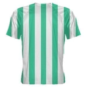 LightningWear-Teal-and-White-Soccer-Jerseys-Stripe-Soccer-Shirts-B078NGNTGP-2