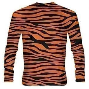 LightningWear-Tiger-Striped-Long-Sleeve-Shirts-Tiger-Print-Shirts-Lightning-Wear-B076XDS2HT
