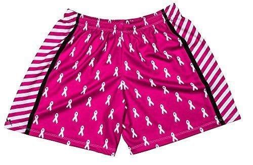LightningWear-Womens-Shorts-Cancer-Ribbon-B077SWW3TX