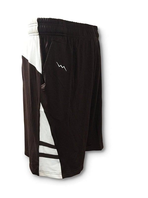 Mens-Athletic-Shorts-Adult-Medium-Brown-Mens-Sports-Shorts-Basketball-Shorts-Lacrosse-Shorts-Gym-Shorts-B077G9NRXF