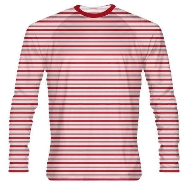 Red-Candy-Cane-Long-Sleeve-Shirt-Custom-Holiday-Shirts-Christmas-Shirts-Long-Sleeve-Christmas-Shirts-B0773V97X2