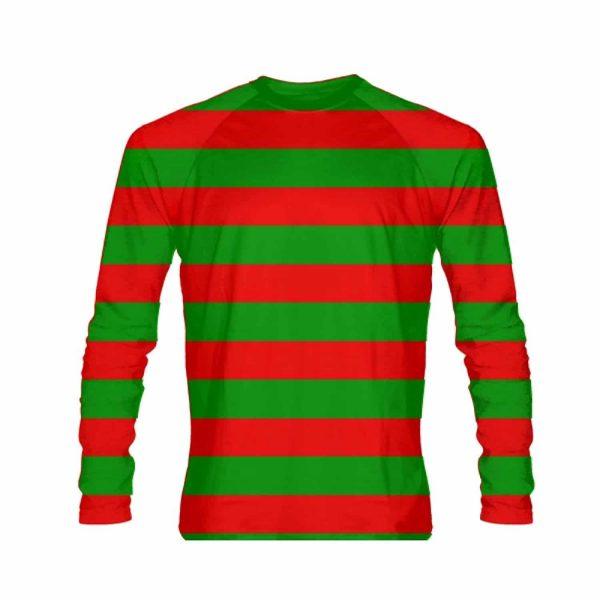 Christmas Shirt.Striped Christmas Shirts Long Sleeve Christmas Shirt
