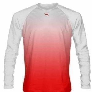 White-Red-Fade-Ombre-Long-Sleeve-Shirts-Basketball-Long-Sleeve-Shirt-Adult-Youth-White-Red-Basketball-Shirts-White-B0787PQPC2