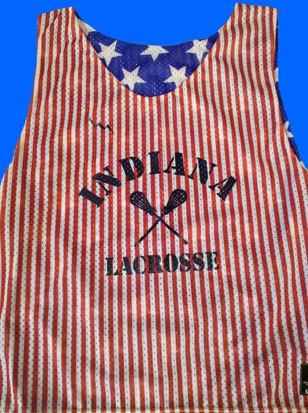 indiana lacrosse pinnies