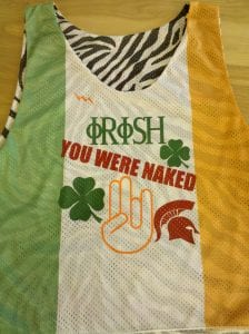 Irish Flag Reversible Jerseys