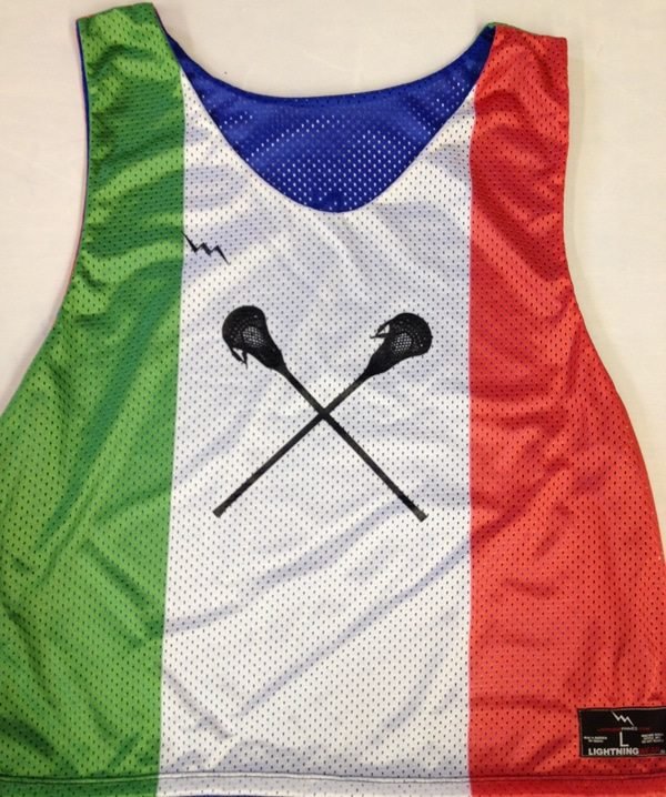 italian flag pinnies