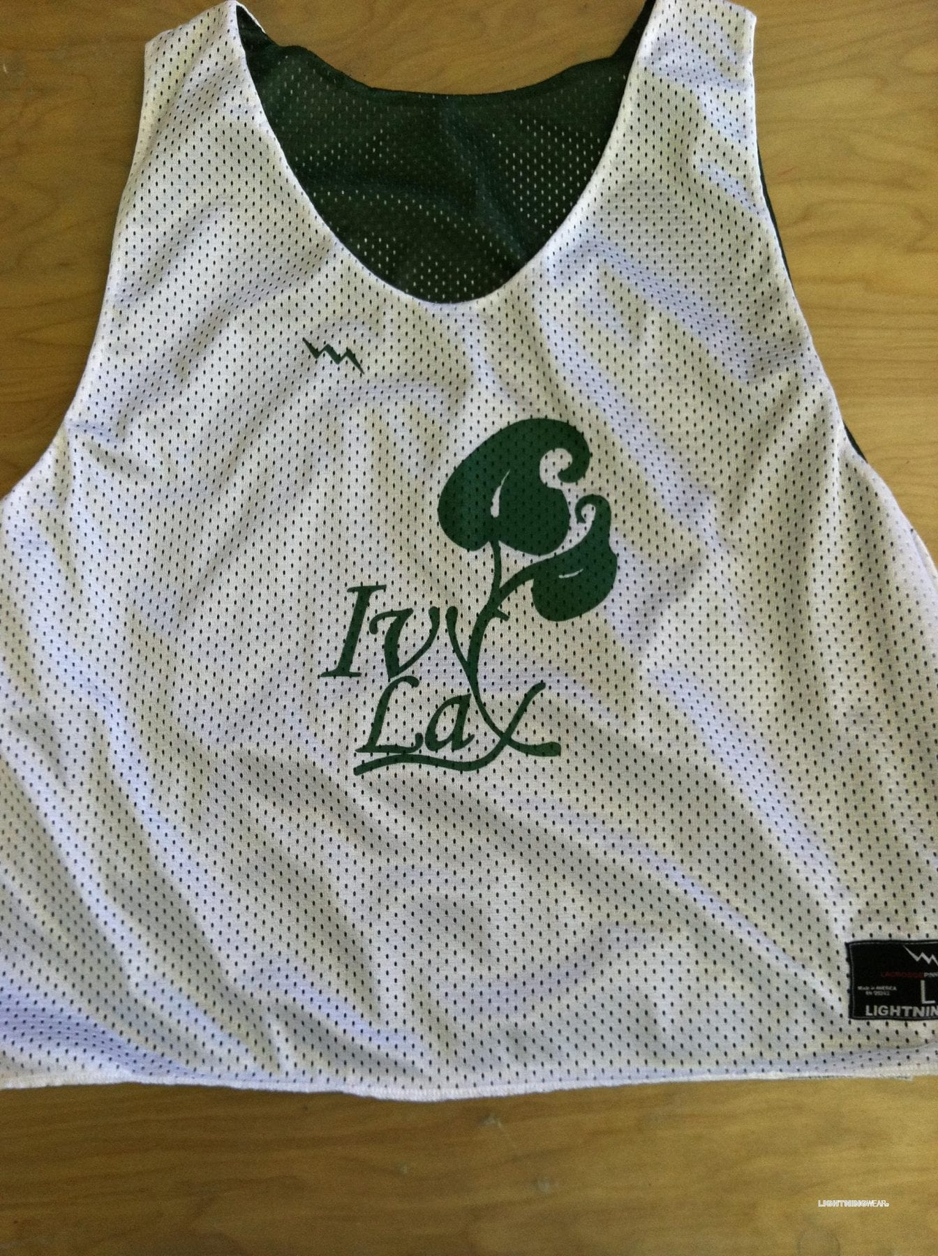 ivy lacrosse pinnies