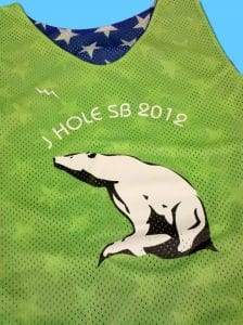 J Holes SB 2012 Pinnies