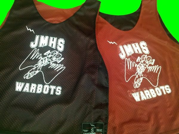 jmhs warbots pinnies