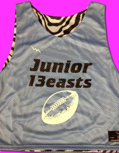 junior beast powder puff pinnies