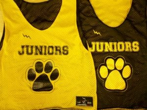 juniors pinnies