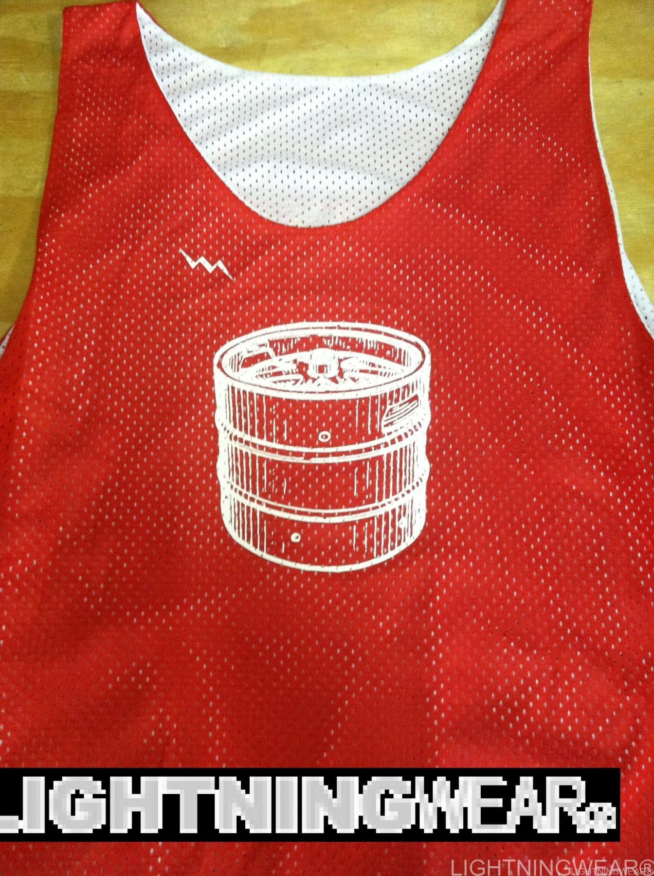 keg beer pinnies