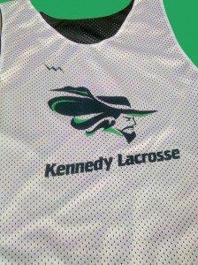 kennedy lacrosse pinnies