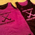 Hot Pink Field Hockey Pinnies