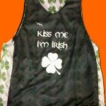 Kiss Me Im Irish Pinnies
