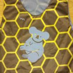 Koala Bear Honey Comb Pinnies