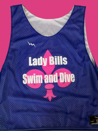 lady bills swim and dive pinnies