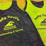 Lady Swimming Pinnies