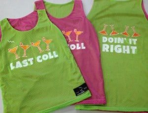 custom womens pinnies