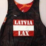 Latvia Lacrosse Pinnies