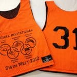 Laurel Invitational Swim Meet Pinnies