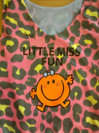 little miss fun pinnies