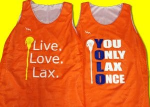 Live Love Lax Reversible Jerseys