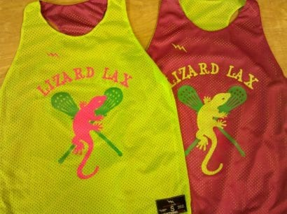 lizard lax pinnies
