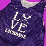 Love Lacrosse Pinnies