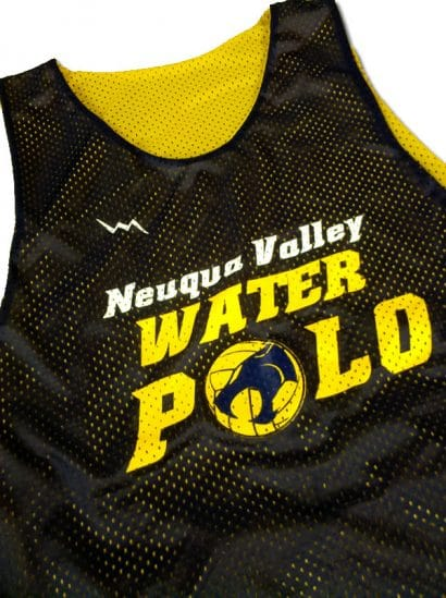 nequa valley water polo pinnies