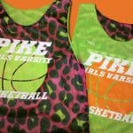 Pike Girls Varsity Basketball Pinnies