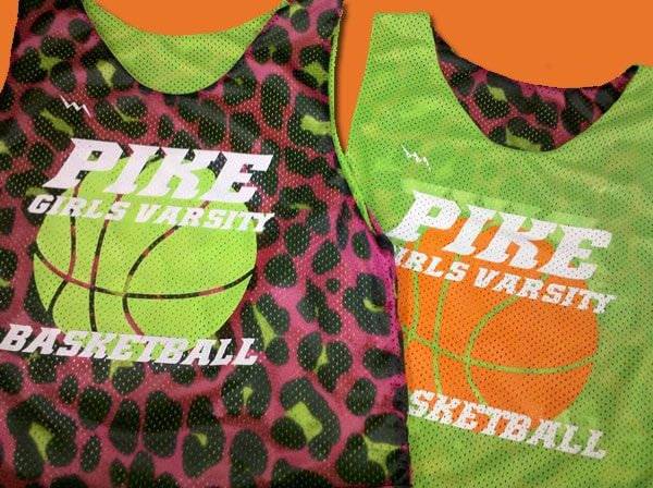 pike girls varsity pinnies