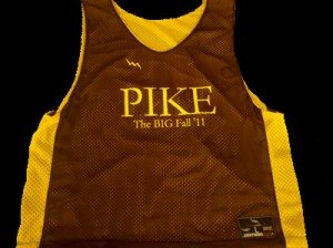 Pike Fall Basketball Pinnies