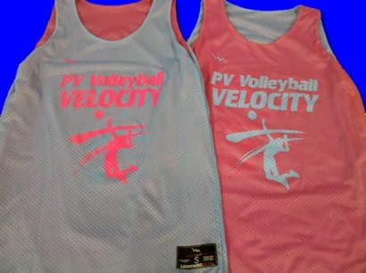 pv volleyball pinnies