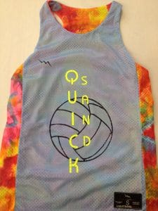 girls volleyball jerseys