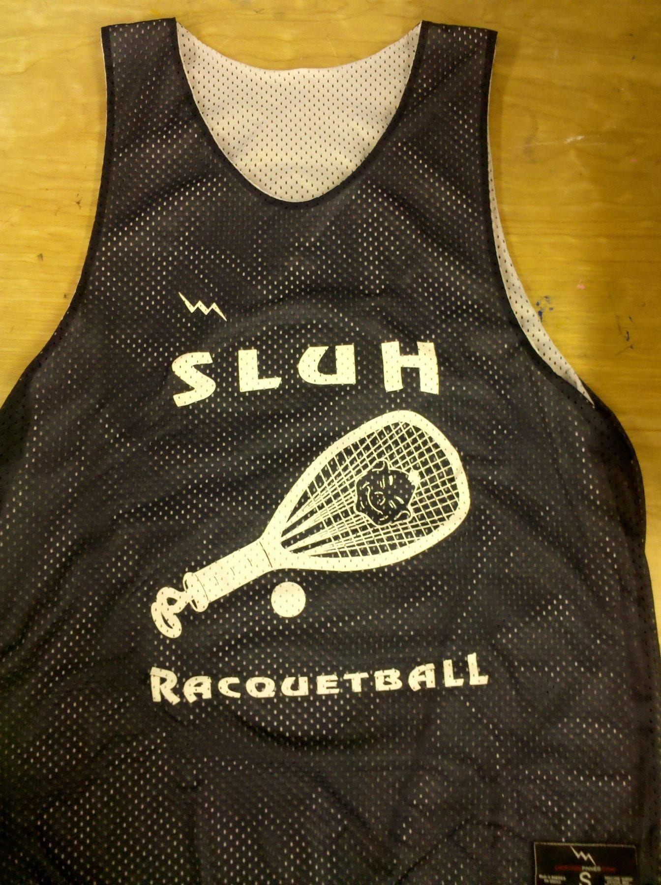 racquetball pinnies
