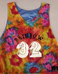 rainbow pinnies