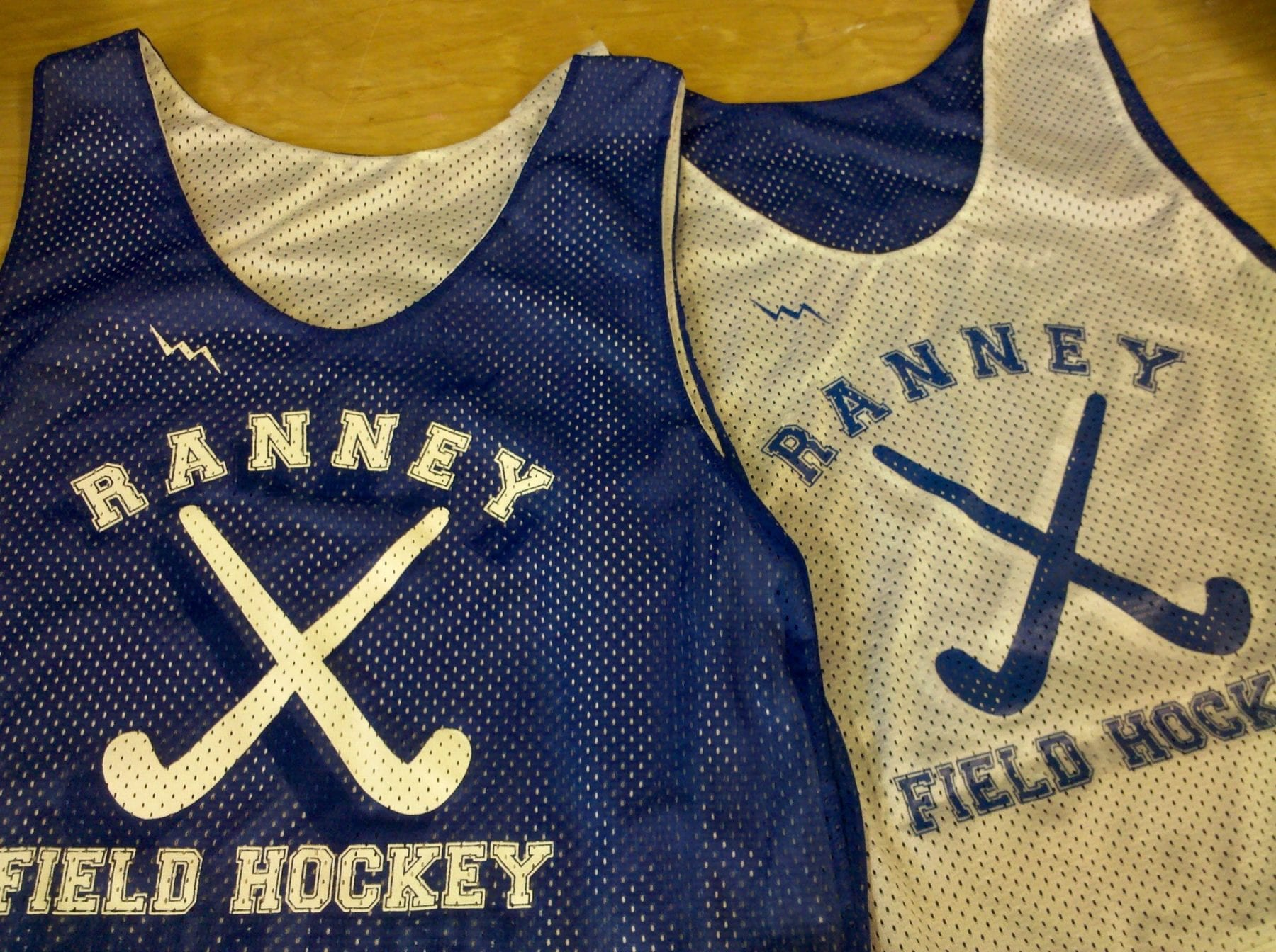ranney field hockey pinnies
