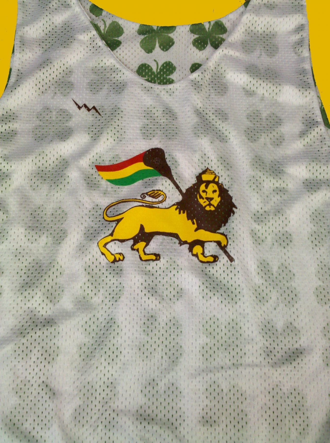 rasta lacrosse pinnies