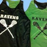 Ravens Girls Lacrosse Pinnies
