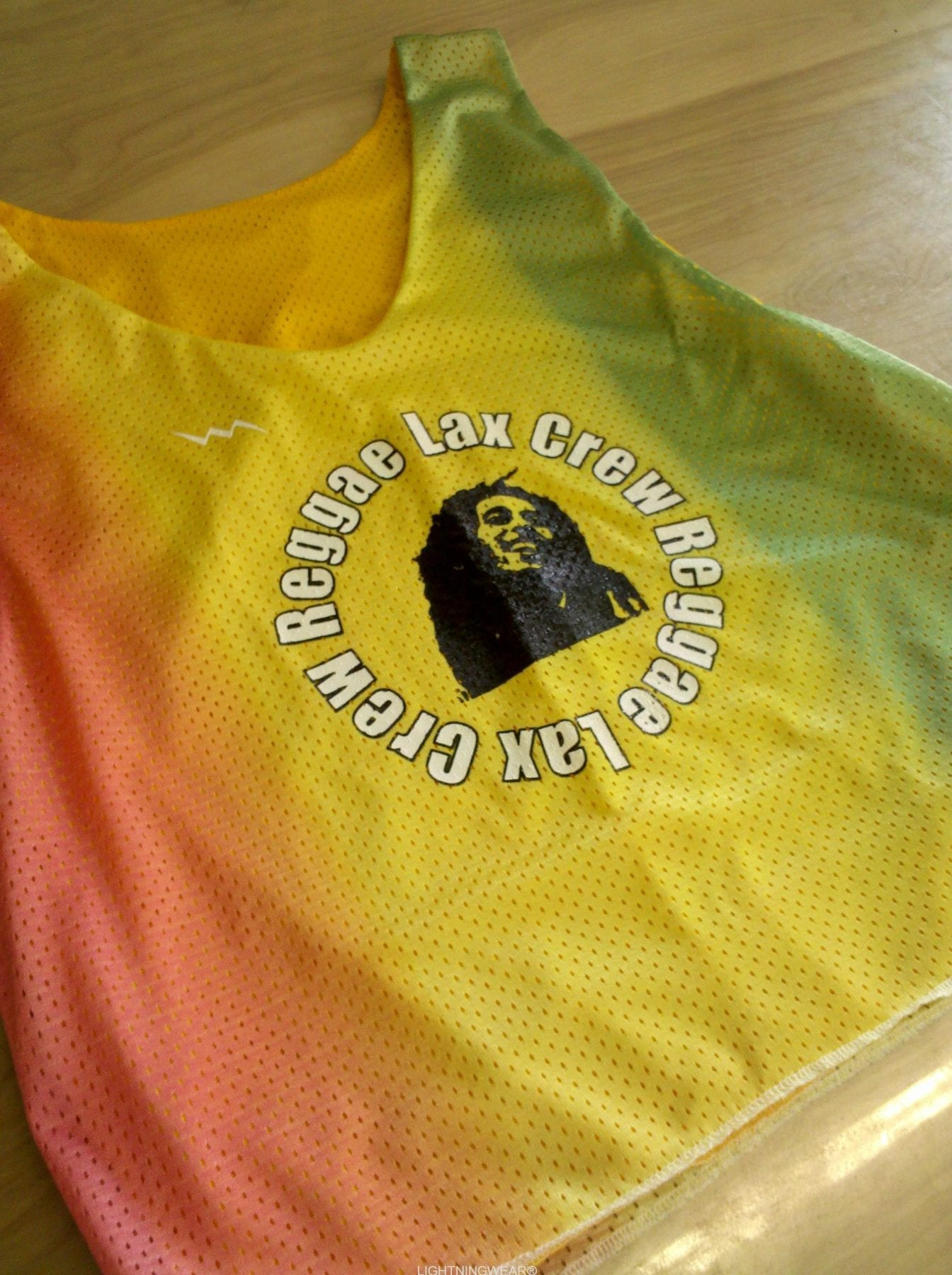 reggae lax crew pinnies