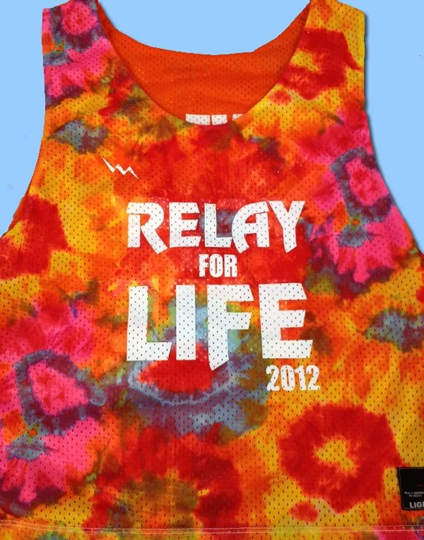 relay for life pinnies