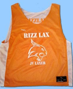 New Hampshire Lacrosse Pinnies
