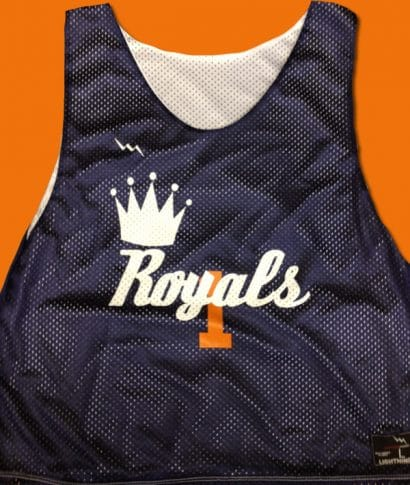 royals pinnies