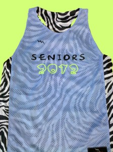 seniors 2012 racerback pinnies