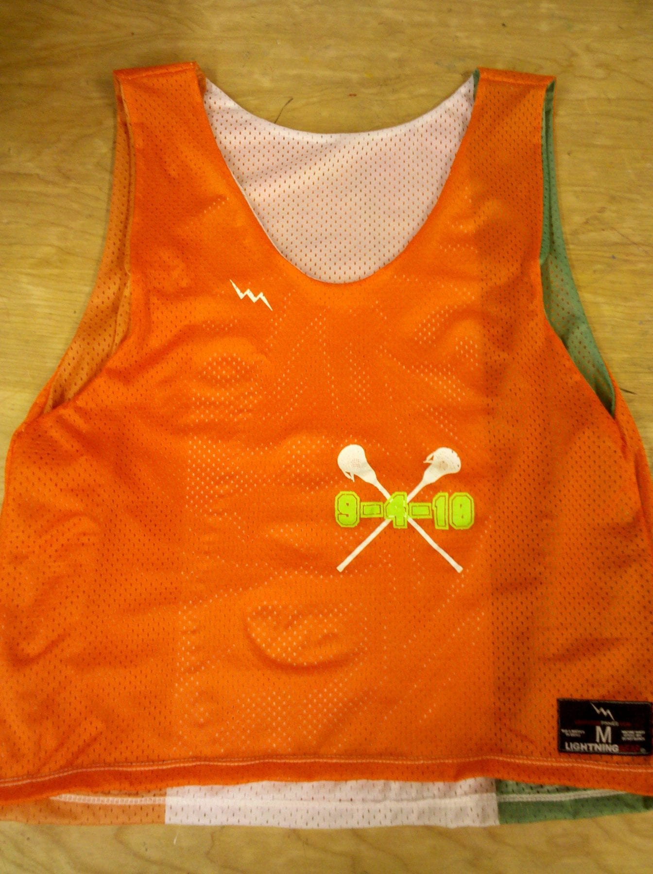 sept 1 2010 pinnies irish flag pinnies